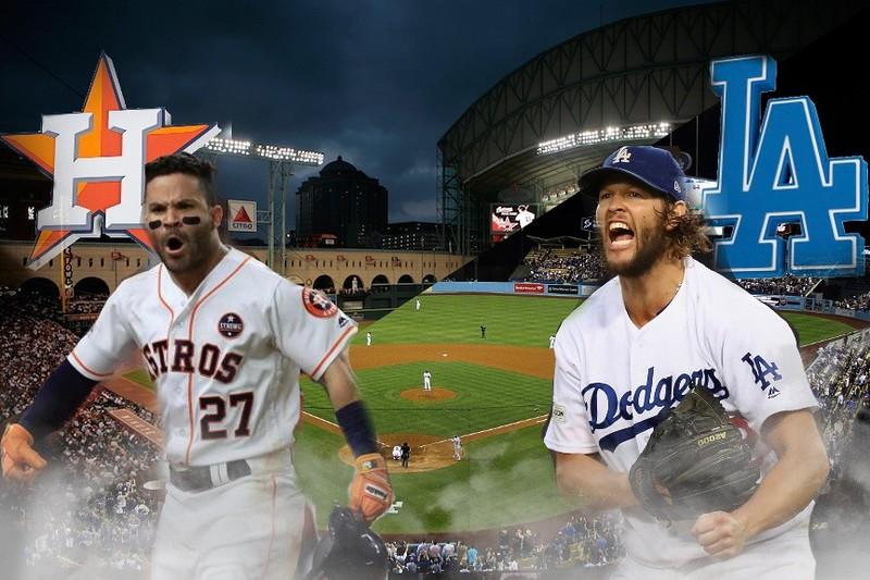 Pictured+above+is+the+Houston+Astros%E2%80%99+Jose+Altuve+and+the+Los+Angeles+Dodgers%E2%80%99+Clayton+Kershaw.+WSPN%27s+Charlie+Moore+previews+and+predicts+the+World+Series+matchup.