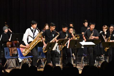 Jazz Ensemble performs (25 photos)