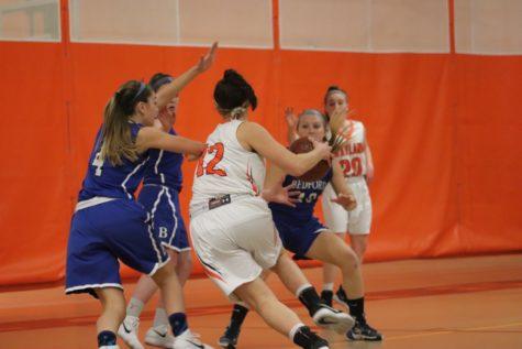 Girls' varsity basketball defeats Framingham (21 photos)