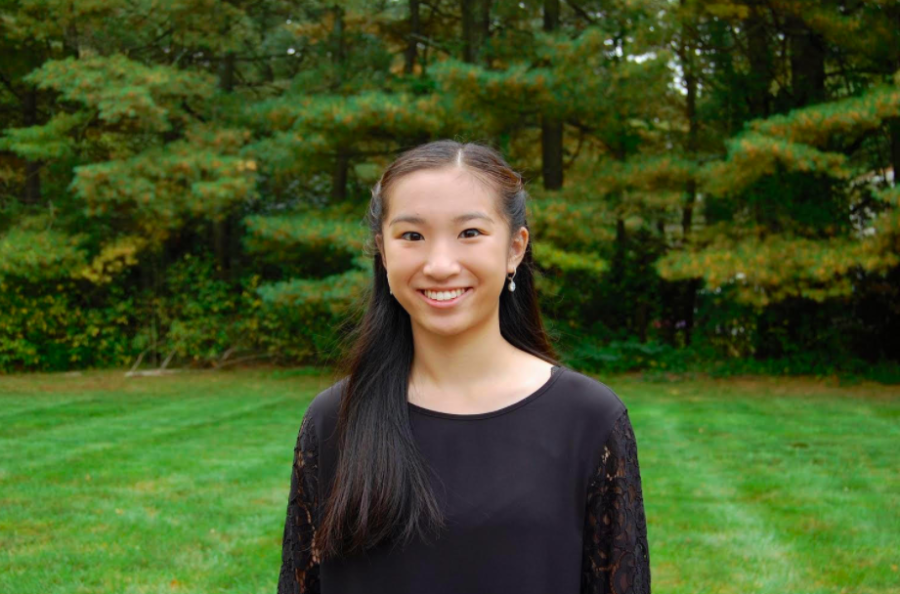 Junior Rachel Chau was third seat violinist in last year's senior districts, but this year she was chosen as the first seat.