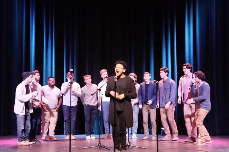 WHS+hosts+annual+winter+college+A+Cappella+Concert++%28video%29