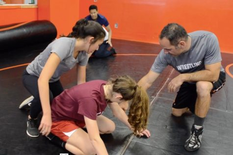 Tryout: A practice with the wrestling team (video)