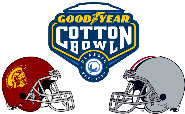 Duncan Stephenson previews the 2017 Goodyear Cotton Bowl between Southern California and Ohio State.