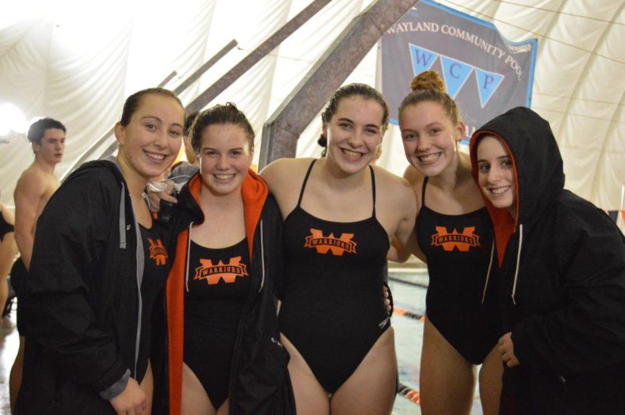 The swim and dive team faces Westford Academy (27 photos)