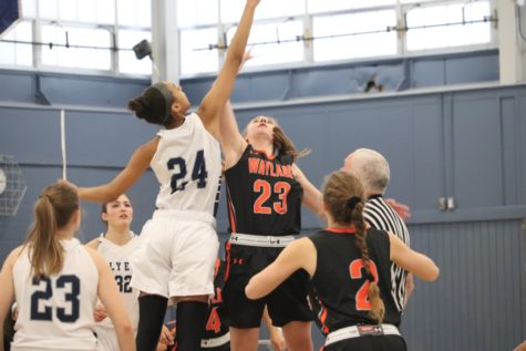 Girls' basketball defeats Bedford (25 photos)
