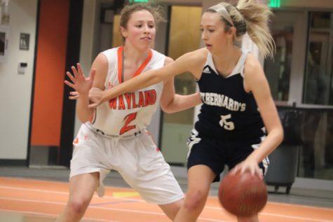 Girls' basketball defeats St. Bernards (20 photos)