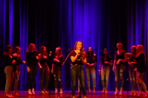 WW '18: A cappella performs (video)