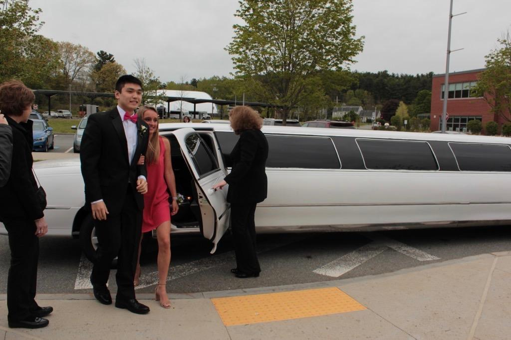 WHS students arrived to prom in their own transportation last year. This year, the administration and the class of 2019 officers compromised on party buses for prom transportation.
