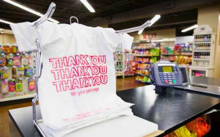 Local stores adapt to plastic bag ban