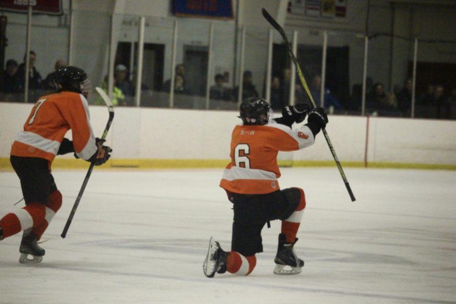 Boys' hockey defeats Cambridge in North quarter finals (23 photos)