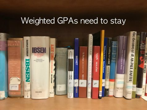 Editorial: Weighted GPAs need to stay