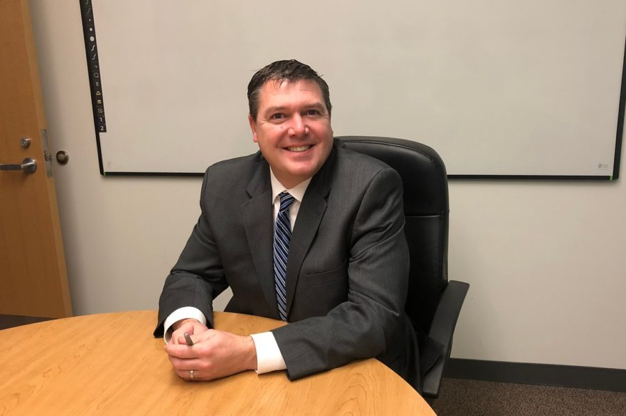 "Current Wayland superintendent Brad Crozier. Crozier is moving on from the position this year to become superintendent of Sudbury Public Schools. ""Wayland is a great school district, and the focus people put on education here in Wayland is something I think they will never lose,"" Crozier said."
