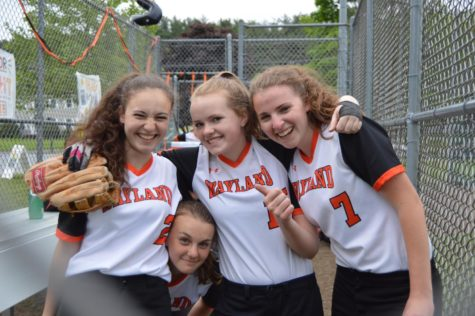 Girls' softball falls to Weston on Senior Night (50 photos)