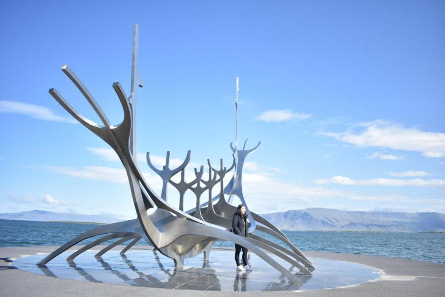 Junior Julia Callini visted Reykjavik, Iceland, where she saw the sculpture