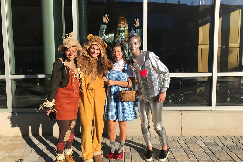 The Class of 2019 celebrates Halloween