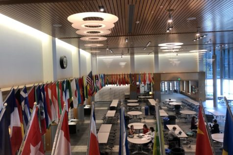 Flags showcase diversity in commons