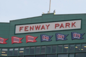 Pictured above is the facade of Fenway Park. On Saturday, Oct. 13, the Boston Red Sox faced the Houston Astros for the American League Pennant. Join Josh Schreiber and Charlie Moore as they breakdown Major League Baseball's American and National League Championship series.