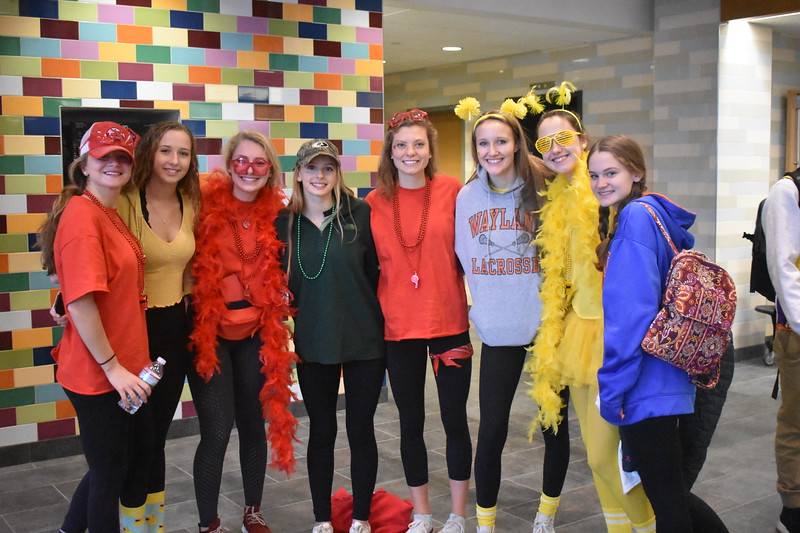 Junior+girls+rejoice+after+%E2%80%9CCoke+and+Pepsi.%E2%80%9D+From+left+to+right%3A+Caroline+Lampert%2C+Kay+Tilley%2C+Maddie+Olstein%2C+Melissa+Tilley%2C+Carly+Camphausen%2C+Izzy+VanRooyen%2C+Arden+Knapp+and+Emma+Sheehan.