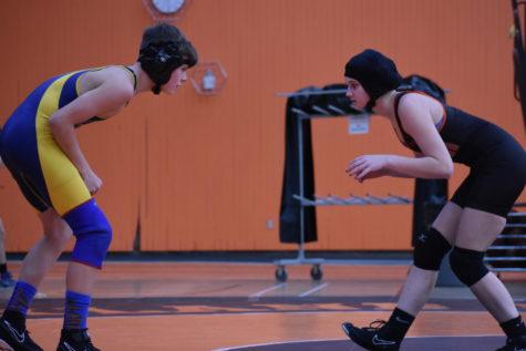 Wrestling quad meet Keefe Tech, Lexington and Holliston (24 photos)