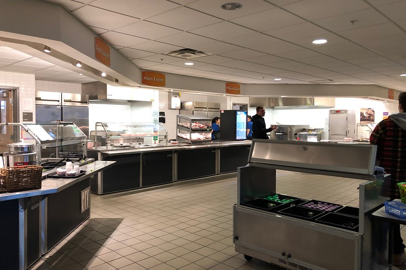 The+WHS+cafeteria+has+many+different+sections+with+a+variety+of+food+options.+To+avoid+waste%2C+the+cafeteria+staff+keeps+track+of+all+the+lunch+that+is+made+and+sold.+%E2%80%9CYou%E2%80%99ll+see+at+all+of+our+stations+we+keep+track+of+everything+that%E2%80%99s+prepared%2C+everything+that%E2%80%99s+sold+and+everything+that%E2%80%99s+leftover%2C%22+Food+Director+Cheryl+Judd+said.