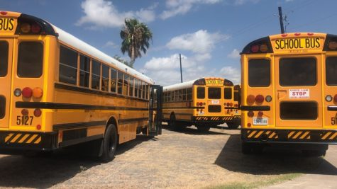 District school buses relocate