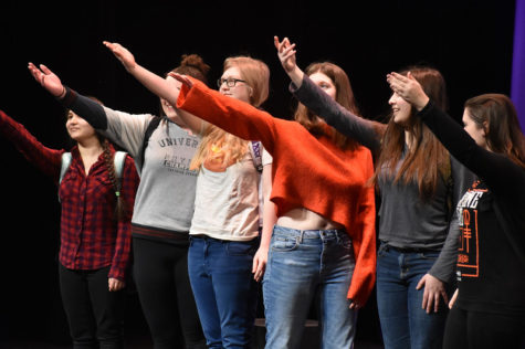 WW '19: Window hits the stage to encourage interested students to audition (8 photos)
