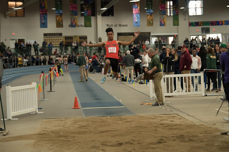 "For the winter Wayland track team, Karbowski participated in the 100, 200, long jump, 4x200 and the 4x100 relay. Representing Wayland in many events, Karbowski made sure to push his limits during his practices. ""I actually did the workouts instead of just walking around the track,"