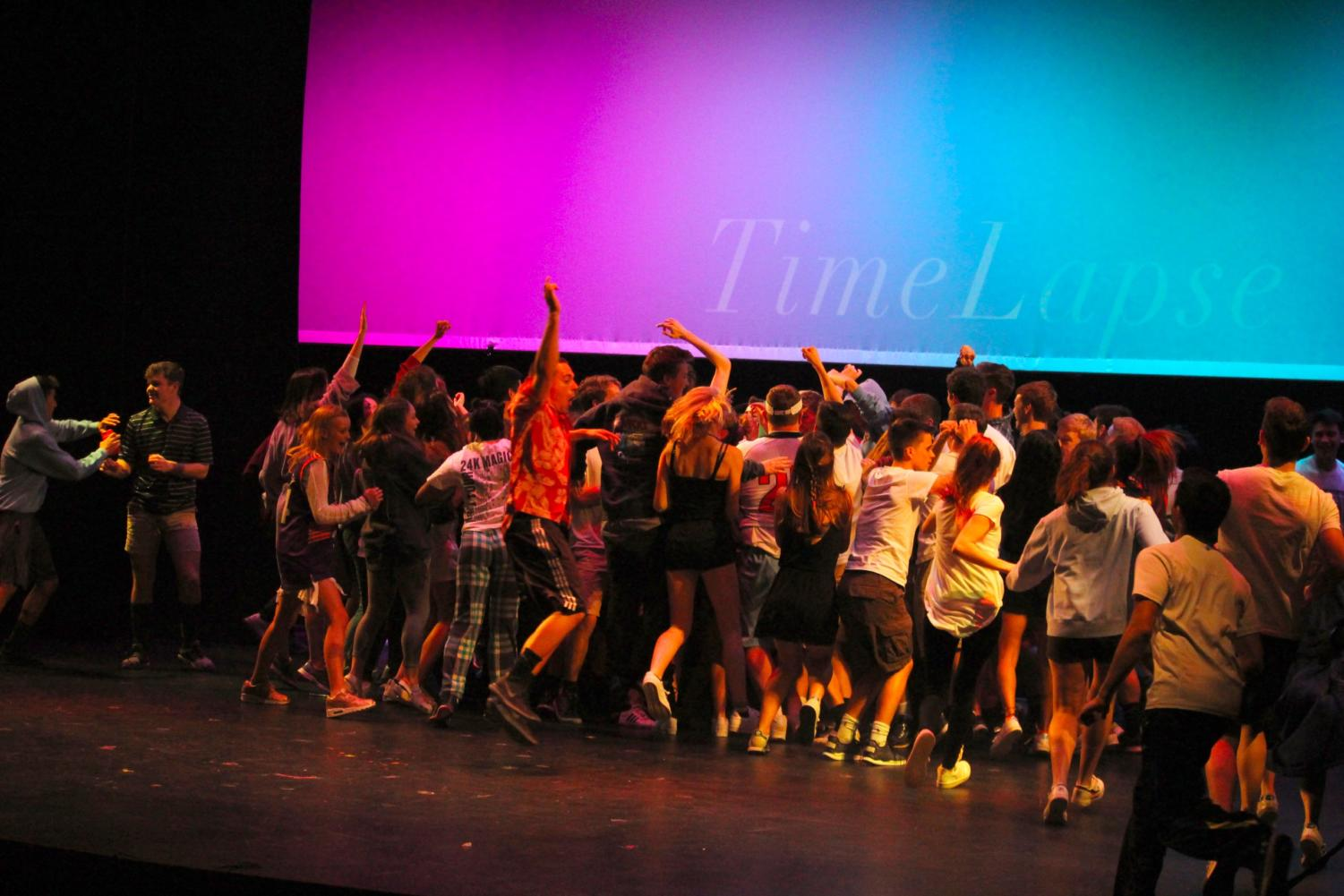 The WHS Class of 2019 ending their Senior Show last March. This March, the Class of 2020 will take the stage for their own Senior Show.
