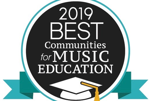 Wayland was recognized as one of the Best Communities of Music Education for the 10th year in a row.