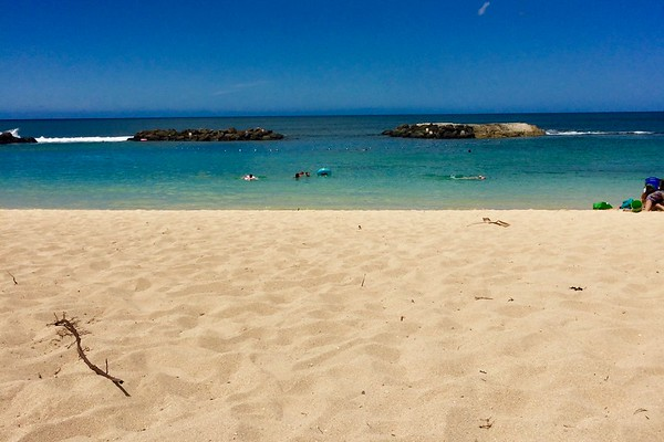 Students travel to many different places throughout the course of the summer. PIctured above is a beach in Hawaii.