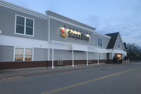 Shopping stops at local Stop & Shop