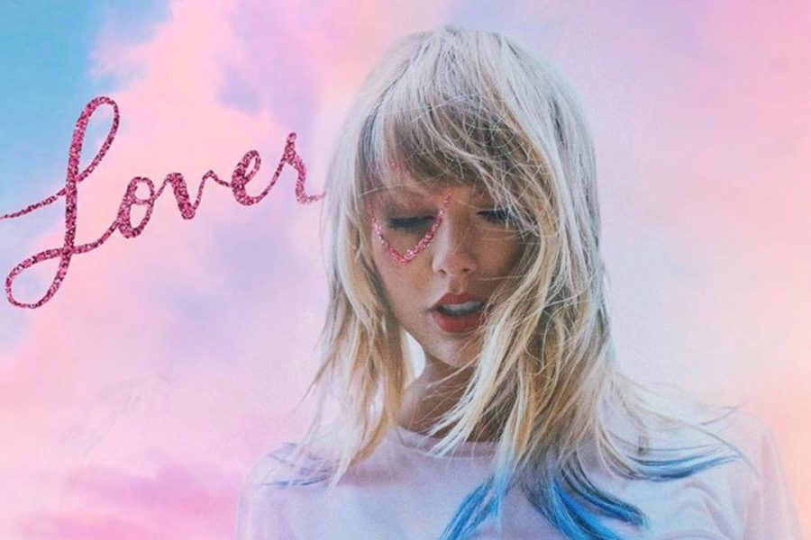 The+cover+of+Taylor+Swift%27s+seventh+studio+album%2C+%22Lover.%22+Swift+released+the+18-song+album+on+August+23%2C+2019.+WSPN%27s+Alyssa+Dickstein+offers+a+review+into+the+album+and+explores+its+place+in+Swift%27s+extensive+repertoire.