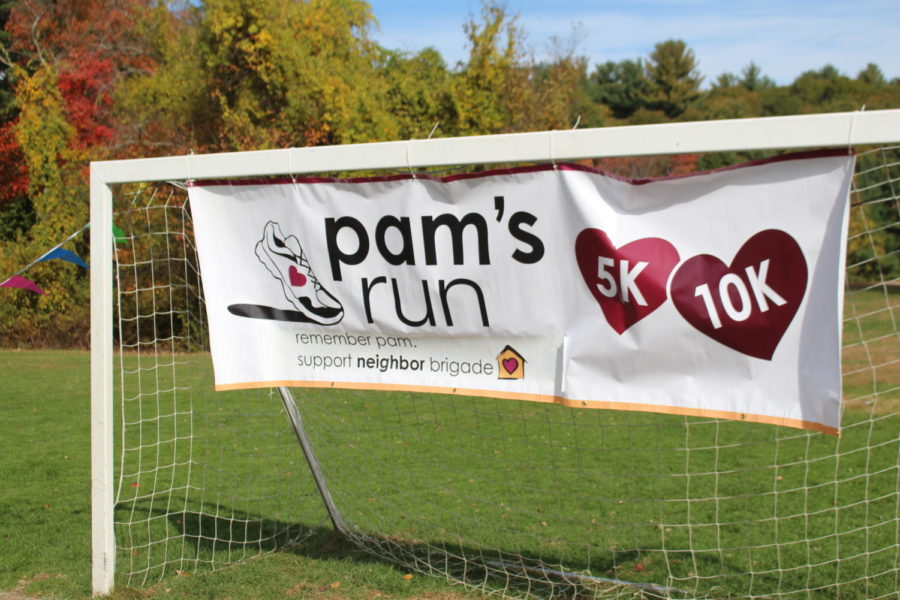 Girls Soccer Team and Wayland community unite for the annual Pam's Run