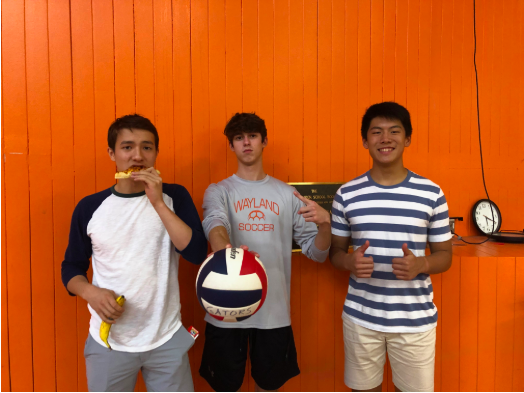 Junior Porter Moody, senior Ryan Fuller and junior Michael Long have decided to take on the roles as team managers for the girls volleyball team. Working with a group of all girls has opened up their eyes to new experiences  that they wouldn't have had with their regular sports teams.