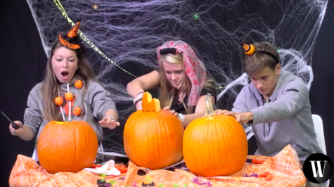 Pumpkin Carving Challenge (video)