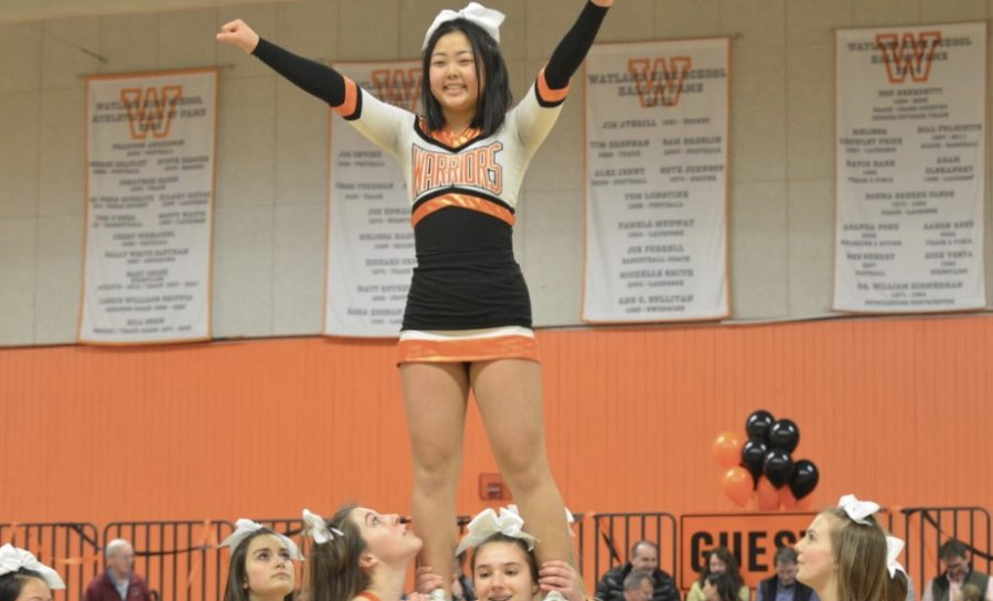 The High School Dream: Wayland's Cheer Squad
