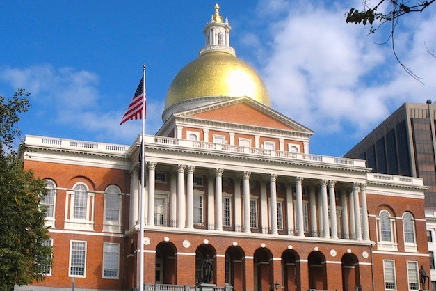 Pictured+above+is+the+Massachusetts+statehouse+in+Beacon+Hill.+WSPN%27s+Taylor+McGuire+shares+her+opinion+on+the+proposed+bill+to+ban+the+b-word+in+Massachusetts.