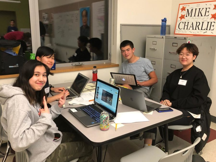WHS Computer Science Club organizes Hack-a-thon