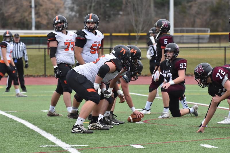 Wayland football crushes Weston 41-6 in Thanksgiving Turkey Bowl (8 photos)