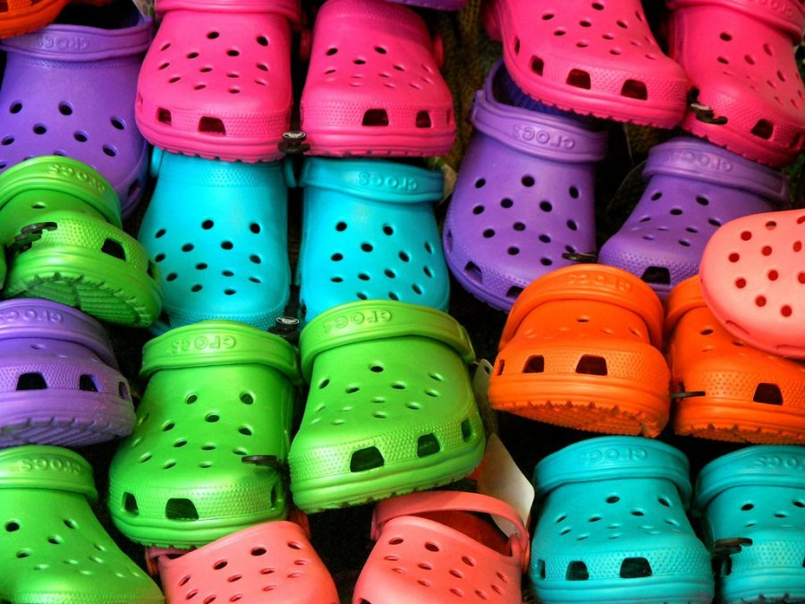 As one of 2019's biggest fashion trends, Crocs have stayed extremely popular and continue to do so. Many students at WHS like the personalization and comfortability of the sandals. Some students sport their Crocs with fun socks and/or Jibbitz.