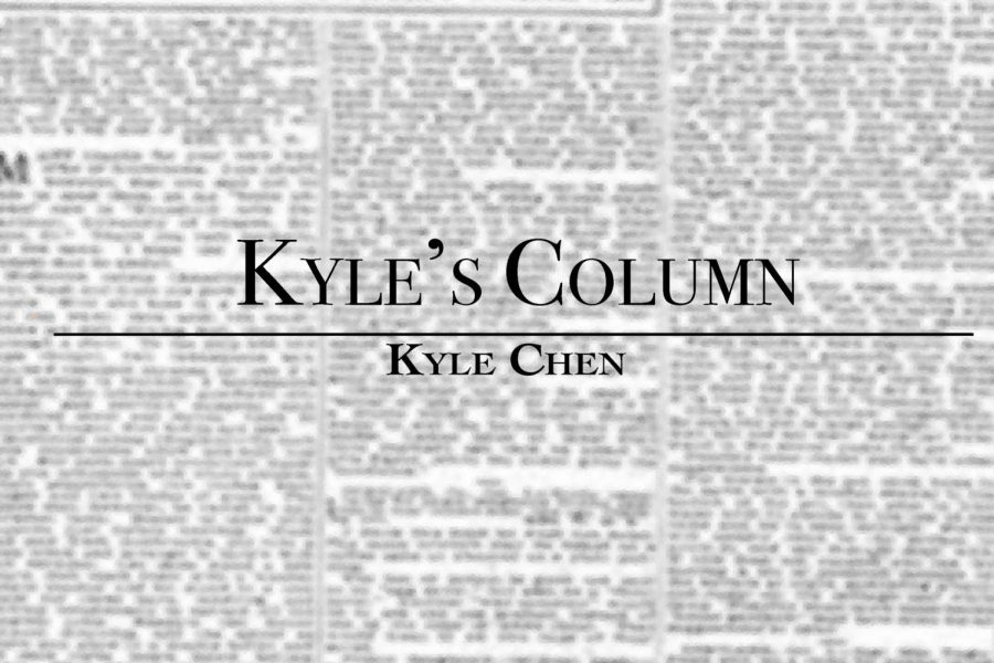 In the latest installment of Kyle's Column, Opinions Editor Kyle Chen reflects upon lessons from