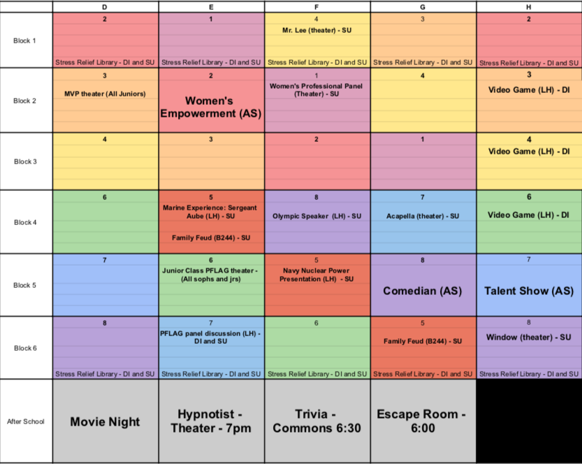 Exclusive: Winter Week 2020 Schedule Released