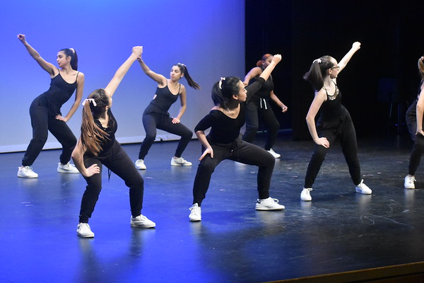 The dancers performed three hip hop numbers, which included