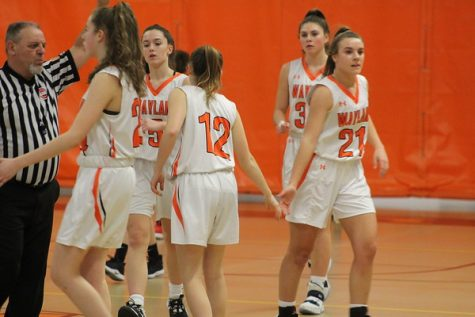 Highlights: girls basketball clinches playoff berth after 56-45 win against Waltham (video)