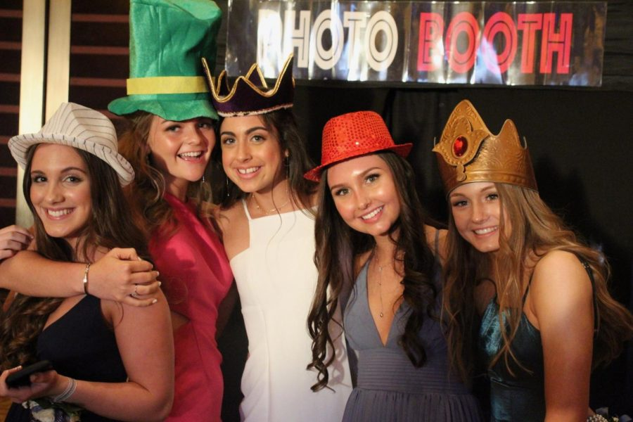 Juniors pose at last year's prom. This school year, however, will not feature a traditional junior prom. Rather, the Class of 2021 will hold a senior prom on Sept. 12.