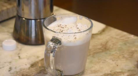 Flavor! At home latté