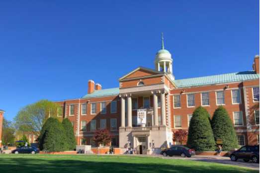 Pictured above is Wake Forest University. WFU has been a test-optional institution since May, 2008. Junior James Waldron believes that schools going test-optional benefits all parties.