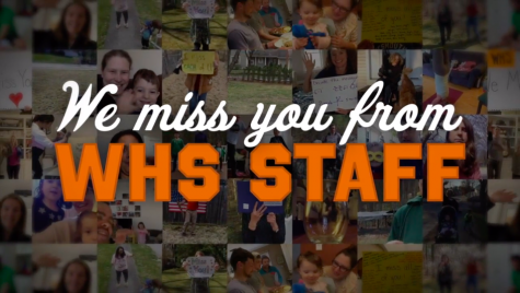 Teachers deliver 'We Miss You' video message