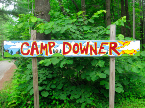 "Every summer, senior Hallie Bachman goes to Camp Downer, a sleepaway camp in Vermont. ""Camp means so much to me and it feels like a home away from home,"" Bachman said. ""It is such a welcoming and happy place and I am so glad that I get to be a part of it."""