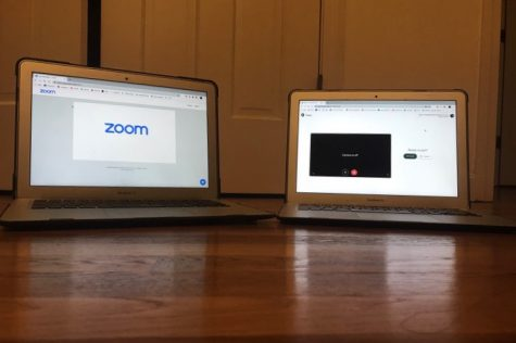 With schools closed for the rest of the year, WHS teachers are now faced with a choice between Google Meet and Zoom for their online classes.